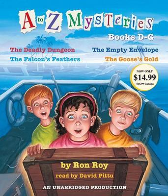 [CD] A to Z Mysteries By Pittu, David (NRT)/ Roy, Ron